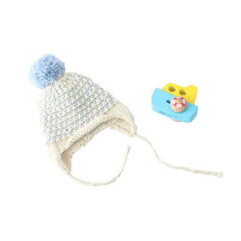 knitting kits for babies knit your own baby s bonnet hat knitting kit by stitch