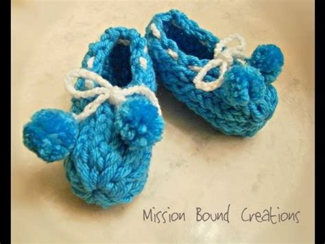 loom knitting for dummies loom knit baby booties from start to finish