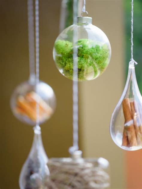 decorate glass ornaments glass ornament filler ideas hgtv