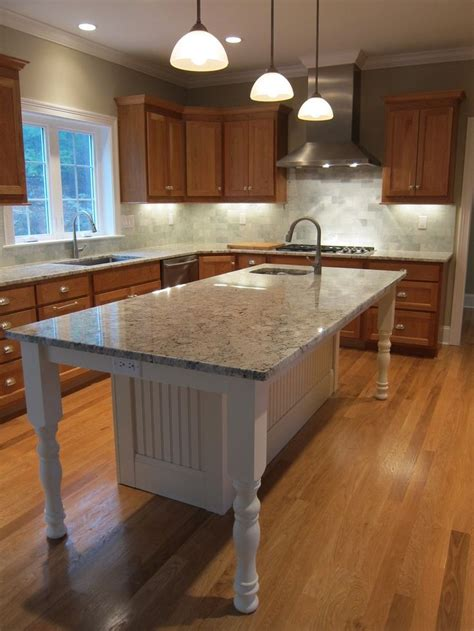 kitchen island with sink and seating white kitchen island with granite countertop and prep sink