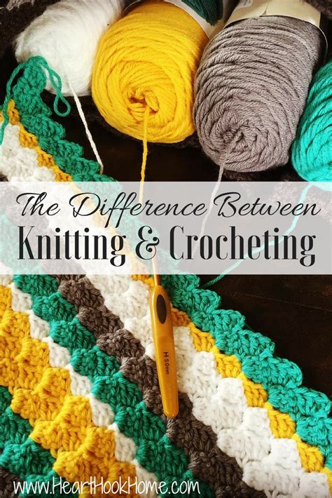 difference between crochet and knitting the difference between knitting and crocheting master