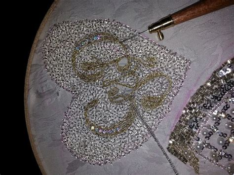 tambour beading 247 best tambour work images on embroidery