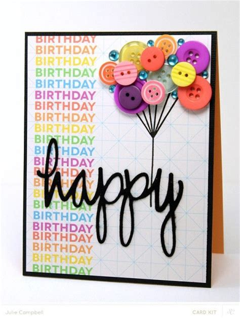 idea for birthday cards handmade birthday cards pink lover