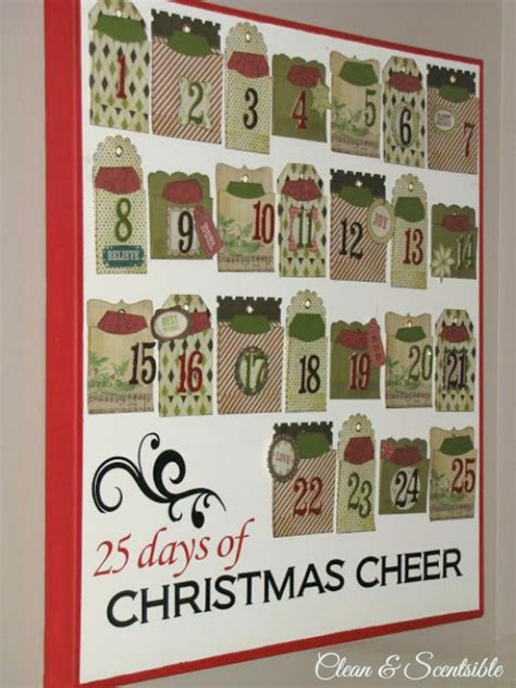 advent calendar craft for activities for clean and scentsible