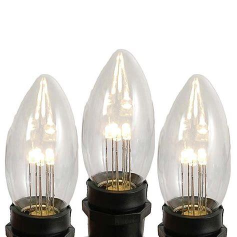 white bulbs clear and white c9 bulbs novelty lights inc