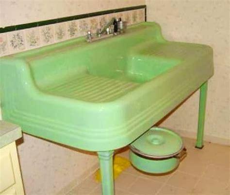 green kitchen sinks farm pink standard plumbing fixtures the