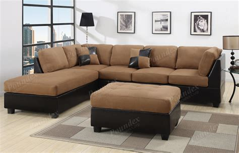 sofa couch sectional sofa 3pcs microfiber sectionals sofa in 6 colors
