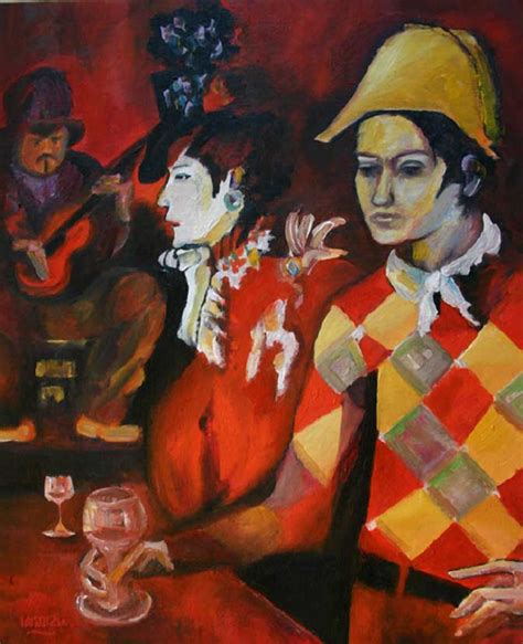 picasso paintings period pablo picasso paintings period harlequin with glass