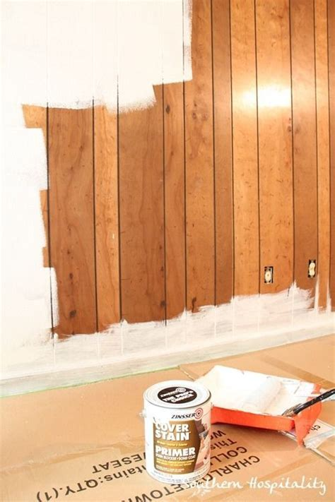 covering wood paneling 25 best ideas about paint wood paneling on