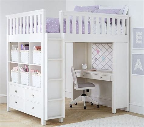 pottery barn loft bed with desk 25 best ideas about bed loft on bed