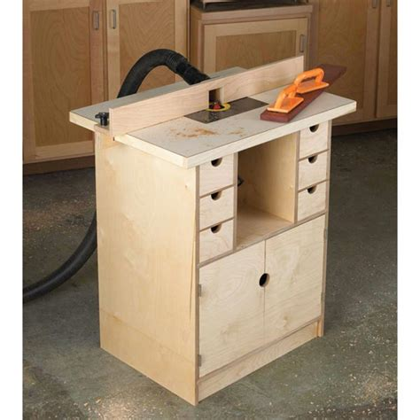 router woodworking plans router table and organizer woodworking plan from wood magazine