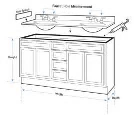 standard bathroom vanity dimensions bathroom vanity dimensions agcguru info