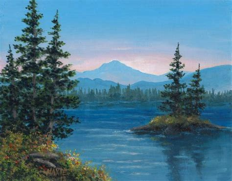 acrylic painting nature 25 best ideas about acrylic landscape painting on