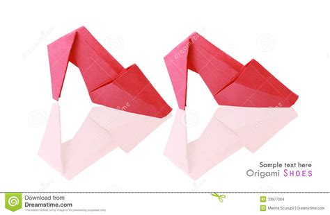 how to make origami shoes origami shoes stock illustration image of health