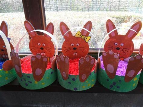 easter basket crafts for easter basket craft ideas for preschoolers find craft ideas