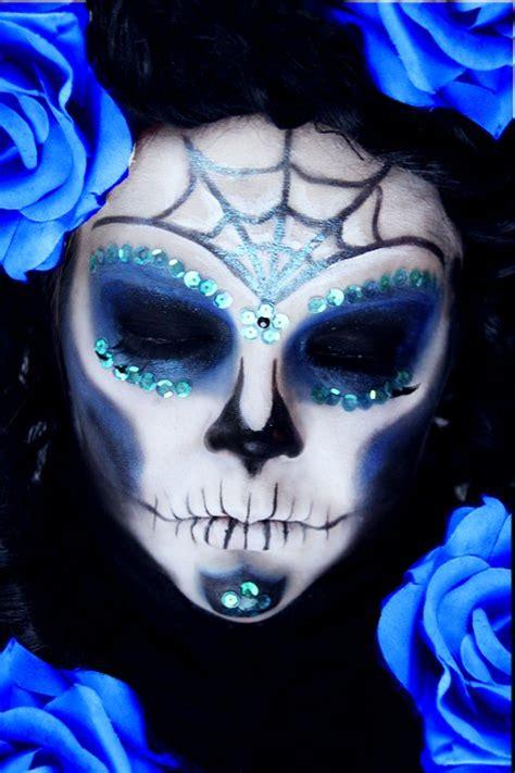 Advanced Royal Sugar Skull Step By Step Tutorial Makeup