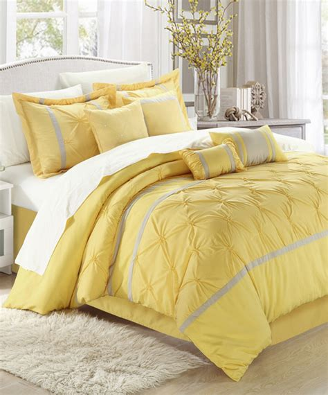 yellow comforter sets yellow vermont embroidered comforter set modern