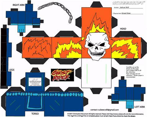 paper cube craft haunted paper toys ravensblight invitations ideas