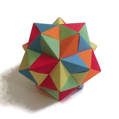 maths origami getting started with geometric modular origami artful maths