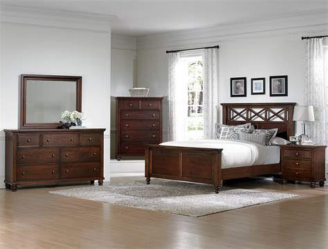 vaughan bassett ellington cherry 622 bedroom