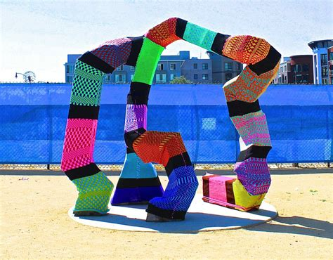 knit bomb yarn bombing 101 how to yarn bomb in 5 steps