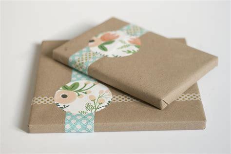 craft paper gift wrap simple kraft paper gift wrap green diy
