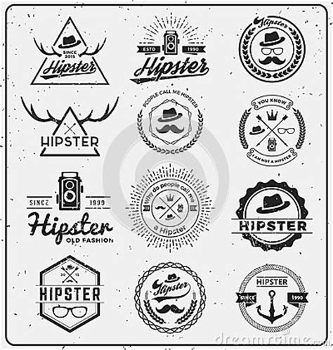 Car Wallpaper Photoshop Shirt Template by Set Of Insignia Logo Design Stock Vector Image