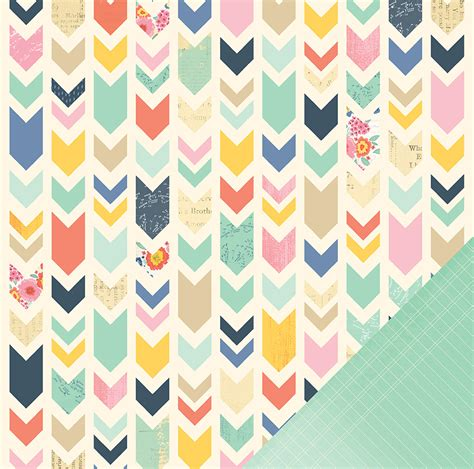 american craft paper american crafts dear lizzy lucky charm collection 12 x