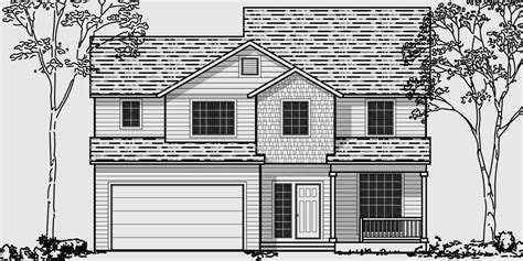 house lots narrow lot house plans building small houses for small lots
