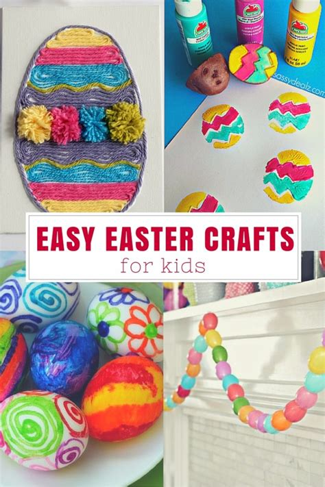 easy easter crafts easter crafts for toddlers easy www imgkid the