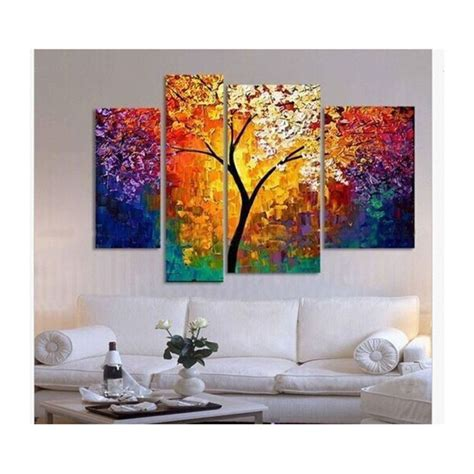 canvas paintings for rooms handpainted painting palette knife paintings for