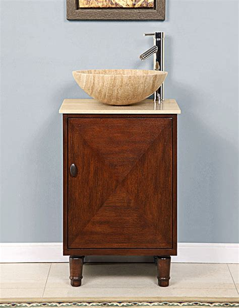 20 inch bathroom vanity with sink 20 inch vessel sink bathroom vanity with a travertine top