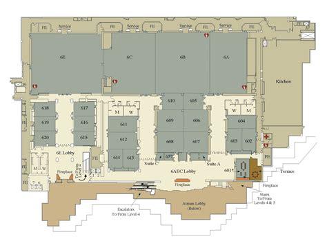 washington convention center floor plan wscc level 6 visit seattle