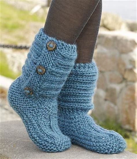 free slipper patterns to knit or crochet free knitted crochet slipper boots patterns