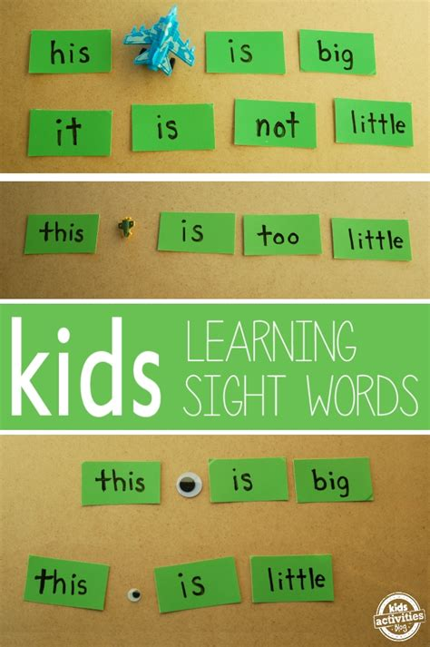 read site sight word play with toys