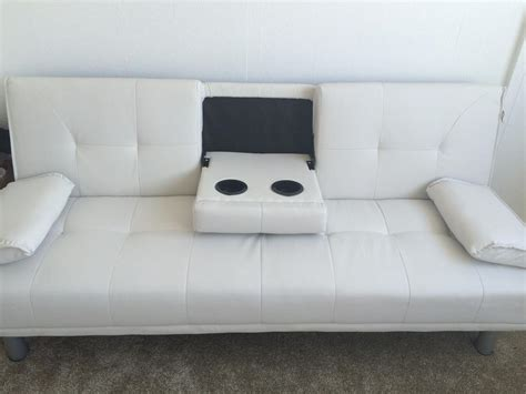 white leather sofa bed sale sofa bed white leather sofa walsall wolverhton