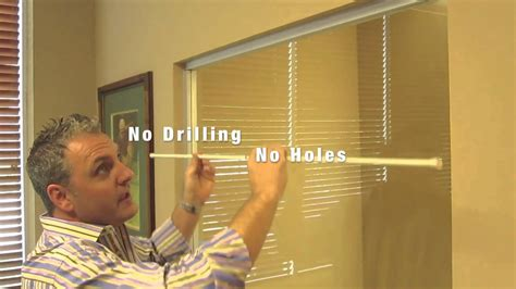 Hanging Heavy Pictures Without Nails how to install a spring tension curtain rod youtube