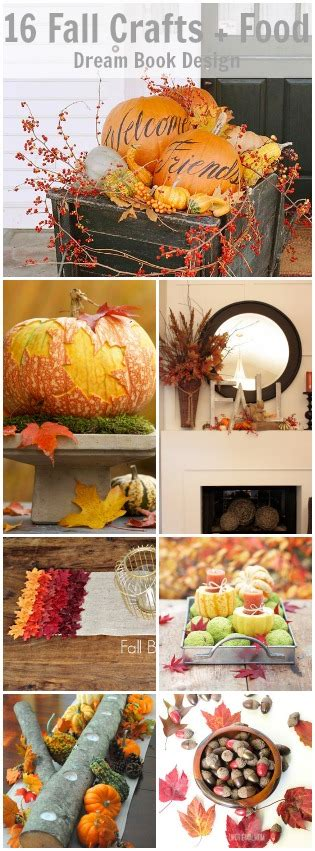 fall food crafts for 16 fall crafts food decor book design