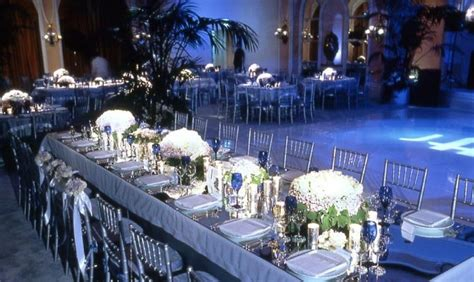 royal blue and silver centerpieces vintage wedding table decorations i silver centerpieces