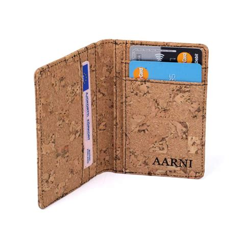 wallet made of cork wallet aarni wallet made of cork