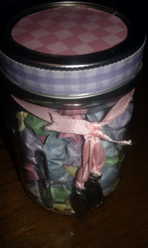 origami jar jar jar of inspiration wish jar wishing origami