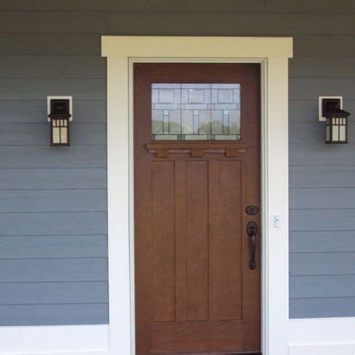 exterior door trim ideas hardie siding boothbay blue exterior