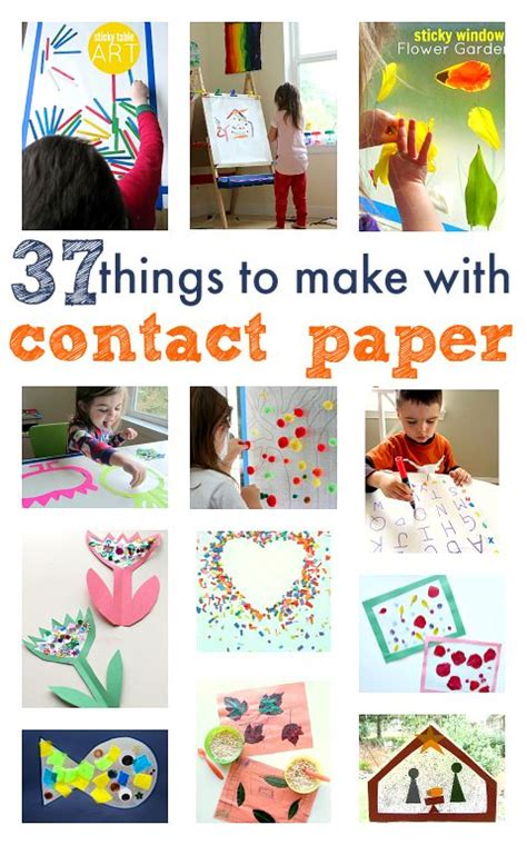 clear contact paper crafts 25 unique contact paper crafts ideas on