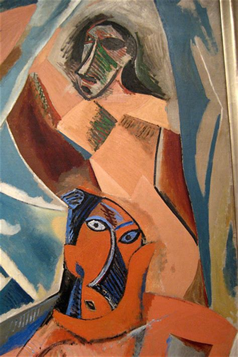 picasso paintings in nyc nyc moma pablo picasso s les demoiseels d avignon