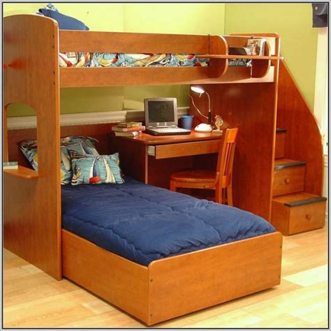 size bunk bed with desk bunk bed with desk medium size of bunk