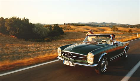 Mercedes Classic Cars by Mercedes Classic Car Travel Oldtimerreise In Die