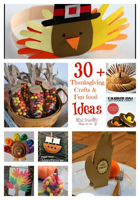 easy food crafts for 30 thanksgiving crafts food crafts for a kid