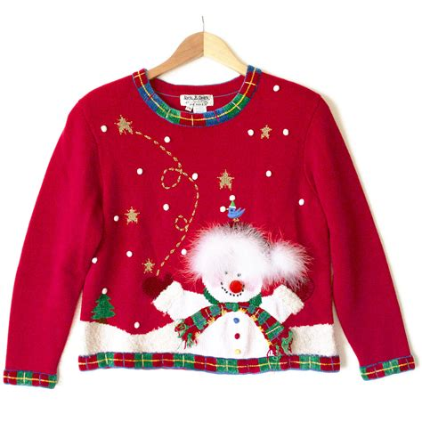 tacky sweater snowman needs a haircut tacky sweater the