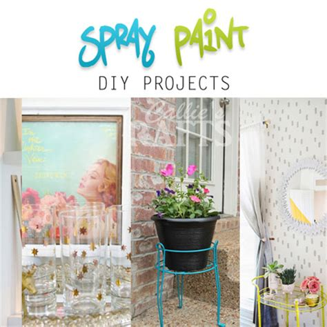 spray paint projects spray paint diy projects the cottage market