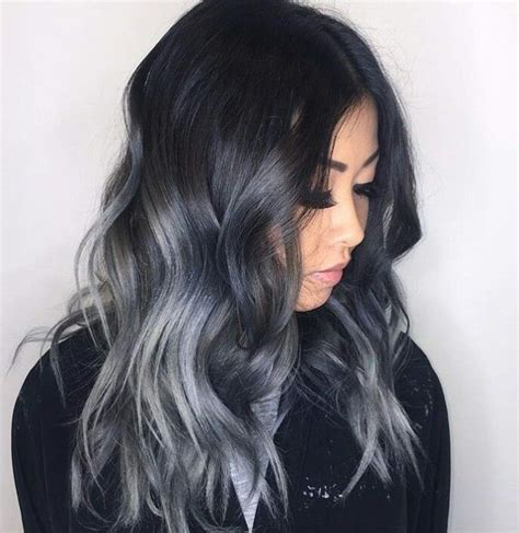 black grey hair 25 best ideas about black and silver hair on pinterest